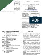 Hirdetések 2011 június19 - 26