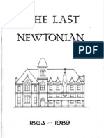 Newtown Boys High School 1863-1989 Part 1 Pages 1-20