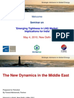 Emerging Tightness in LNG for India