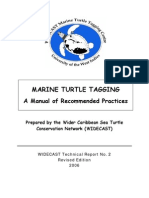 Eckert Beggs 2006 Sea Turtle Tagging Manual Revised Edition