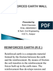 Reinforced Earth Structures