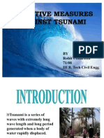 PREVENTIVE MEASURES AGAINST TSUNAMI
