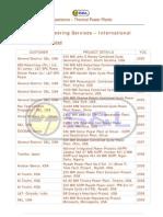 Detail Engineering Services – International