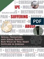 Sexual Predators and Serial Rapists Run Wild at Wal-Mart Supplier in Jordan