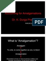 Accounting for Amalgamations