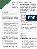 Questões OJ - Constitucional - Federal