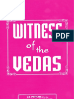 Witness of Vedas