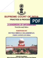 Supreme Court Proceedure Hand Book