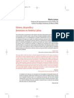 Genero Desarrollo y Feminismo en America Latina