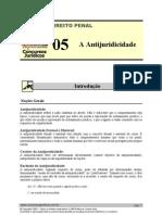 PEN 05 - A Antijuridicidade