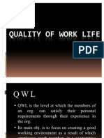 Quality of Work Life