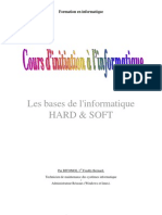 COURS D'INITIATION à L'INFORMATIQUE