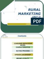 Rural Marketing II