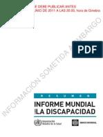 Relatório do Banco Mundial sobre deficiência