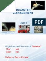 Disaster Management - i
