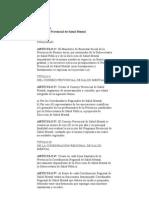 Ley Salud Mental Provincia de Buenos Aires