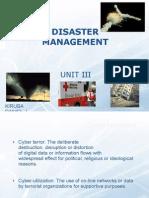 Disaster Management - III