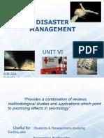 Disaster Management - IV