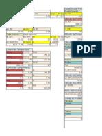 Planilha de cálculo do trocador de calor ENGEPRA