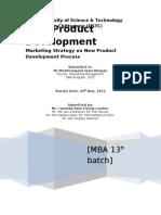 New Product Development Process by Tamzidul Amin