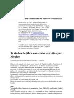Tratados de Libre Comercio Entre Mexico y Otros Paises