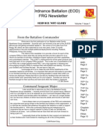 BN Newsletter 1st Edition