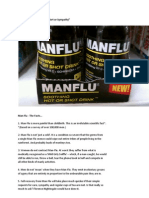Man Flu - The Facts