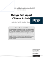 Things Fall Apart OCR