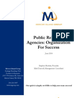 PR Organization for Success Spring 2004