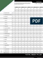 P90XPlus Worksheets