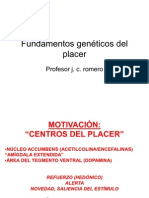 Fundamentos genéticos del placer