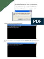 Reiniciar Windows desde acceso Remoto