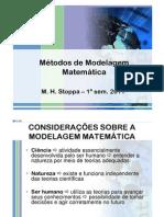 Métodos de Modelagem Matemática
