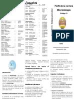 Plan de estudios de Microbiología UNAH