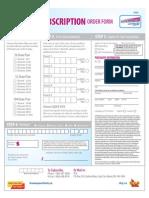 OLG Subscription Form