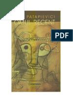 Horia-Roman Patapievici - Omul Recent