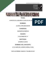 Avances de La Ing.biomedica en Bioquimica Clinica
