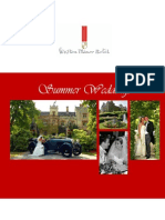 Summer Wedding Brochure