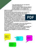 3.1.3 Problemas de Itegracion de Los Grupos Sociales a Los Mundos Digitalizados