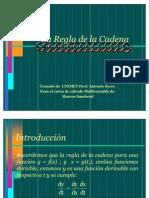 Regla de La Cadena