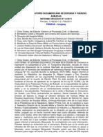 Informe Uruguay 14-2011