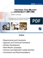 NATO Multi National Civil Military Interoperablity Concepts and IFAs Presentation
