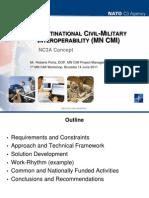 NATO Multi National Civil Military Interoperablity Concepts and IFAs Presentation