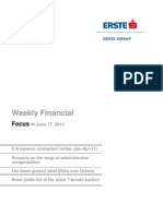 2011-06-17 Erste Financial Focus Weekly