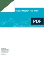 Enterprise Master Test Plan