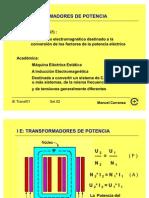 TRANSFORMADORES DE POTENCIA