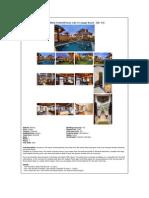 Bali Canggu villa for sale with 3 bedrooms near Berawa beach