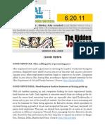 The Hidden Job Report for 6.20.11