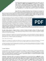 Tema 1 - Lengua, Habla y Signo Linguistico