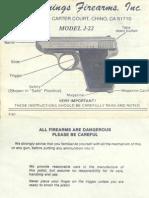 Jennings J-22 Manual